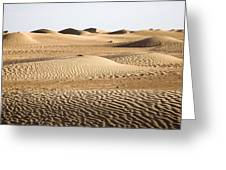 Sahara Desert Greeting Card by Frits Selier