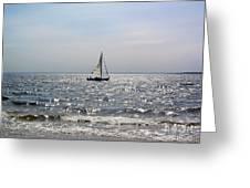 Sail Alone Greeting Card