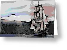 Sailing Ship Greeting Card