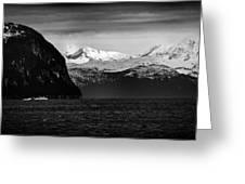 Sailing To Valdez Greeting Card