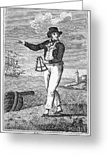 Sailor, 18th Century Greeting Card