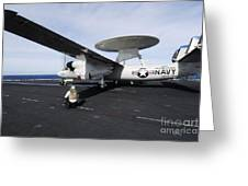 Sailors Guide An E-2c Hawkeye Greeting Card