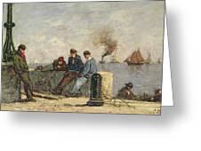 Sailors Greeting Card