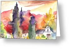 Saint Bertrand De Comminges 07 Greeting Card
