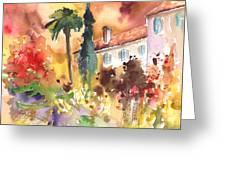 Saint Bertrand De Comminges 12 Greeting Card