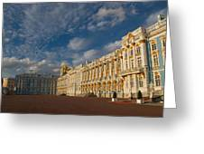 Saint Catherine Palace Greeting Card by David Smith