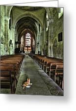 Saint Emilion Church Greeting Card