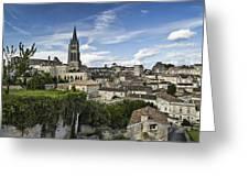 Saint Emilion Greeting Card