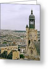Saint Etienne Du Mont Greeting Card