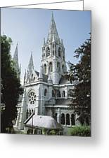 Saint Finbarres Cathedral, Cork City Greeting Card