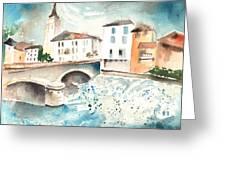 Saint Girons 02 Greeting Card