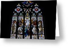 Saint Johns Stained Glass Greeting Card