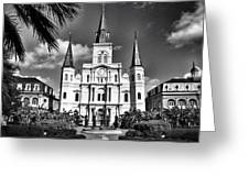 Saint Louis Cathedral Greeting Card