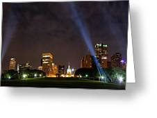 Saint Louis Lights Greeting Card