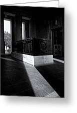Saint Louis Soldiers Memorial Black And White Greeting Card