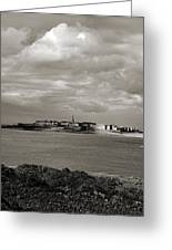 Saint-malo From Dinard. Greeting Card