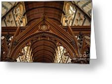 Saint Marys Church Interior 1 Greeting Card