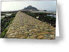 Saint Michael's Mount Greeting Card