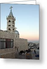 Saint Nicholas Church Beit Jala Greeting Card