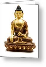 Sakyamuni Buddha Greeting Card