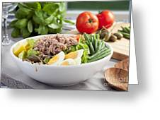 Salad Nicoise Greeting Card