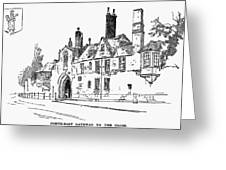 Salisbury Cathedral: Close Greeting Card