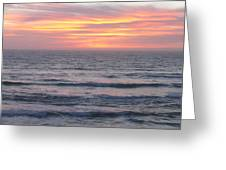 Salmon Creek Beach Greeting Card