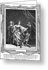 Salome & John The Baptist Greeting Card