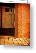 Saloon Doors Greeting Card