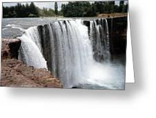 Salto Del Laja - Waterfall Greeting Card
