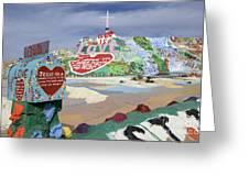 Salvation Mountain California 2 Greeting Card