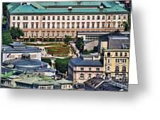 Salzburg II Austria Europe Greeting Card by Sabine Jacobs