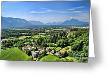 Salzburg IIi Austria Europe Greeting Card