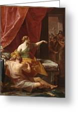 Samson And Delilah Greeting Card
