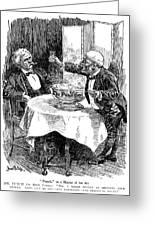 Samuel Clemens Cartoon Greeting Card