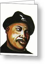 Samuel L Jackson Greeting Card