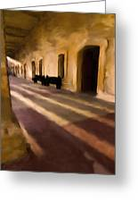 San Cristobal Shadows Greeting Card