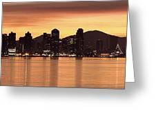 San Diego At Night Greeting Card
