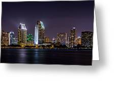 San Diego Skyline Greeting Card