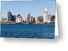 San Diego Skyline Buildings Greeting Card
