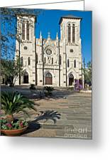 San Fernando Cathedral Greeting Card
