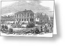 San Francisco, 1850 Greeting Card