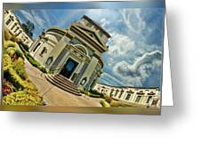 San Francisco Colvbarivm Greeting Card