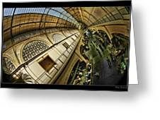 San Francisco Ferry Building Interior Greeting Card