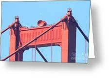 San Francisco Golden Gate Bridge . 7d7805 Greeting Card