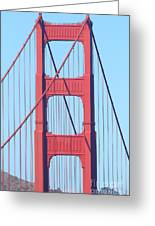 San Francisco Golden Gate Bridge . 7d7809 Greeting Card