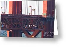 San Francisco Golden Gate Bridge . 7d8115 Greeting Card