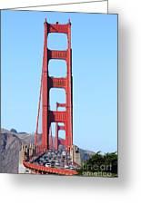 San Francisco Golden Gate Bridge . 7d8146 Greeting Card