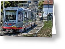 San Francisco Muni Greeting Card
