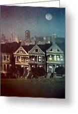 San Francisco Night Greeting Card